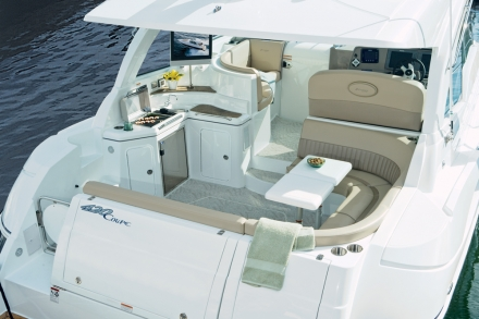 430 Sports Coupe. Categories: Cruisers Yachts12 Jan 2012