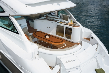 540 Sports Coupe. Any boat can get you from here to there.
